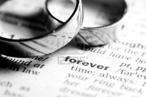 wedding-rings-near-dictionary-entry-word-forever-black-and-white