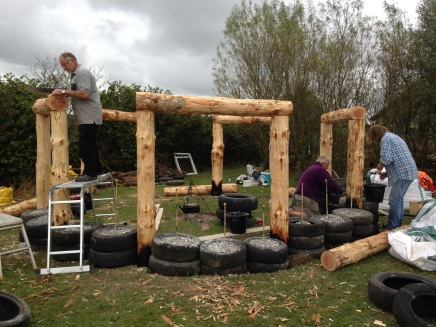 Outdoor Classroom Wooden Frame