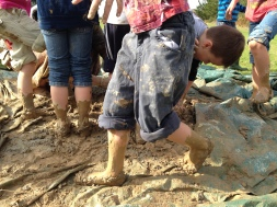 Outdoor Classroom Stamping Clay
