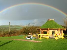 Outdoor Classroom Rainbow