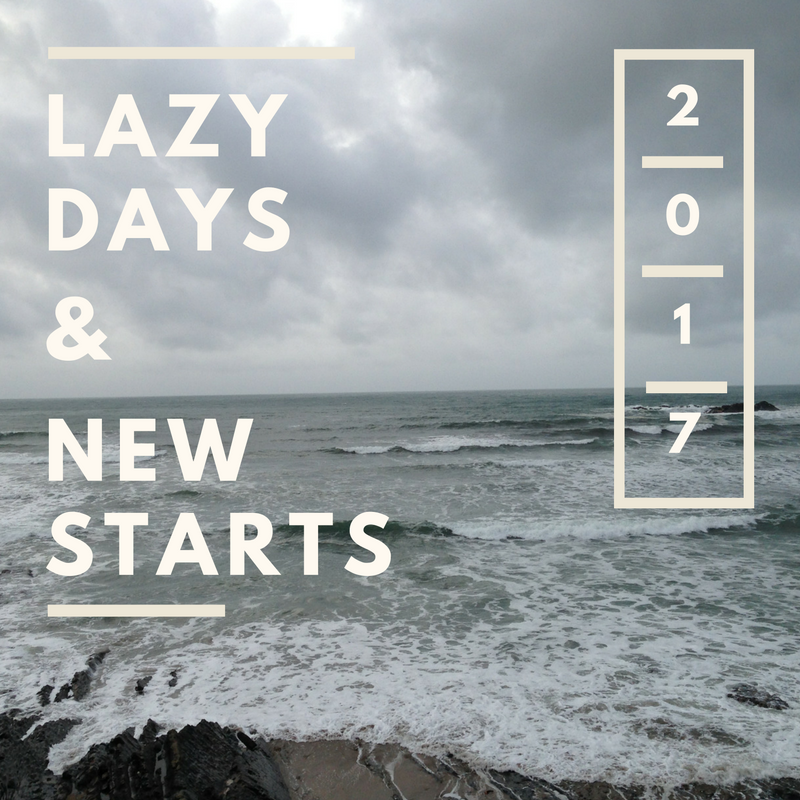 Lazy Days and New Starts Header